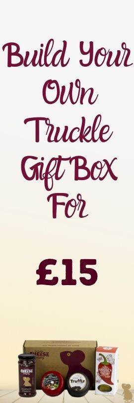 Cheese Truckle Gift Box