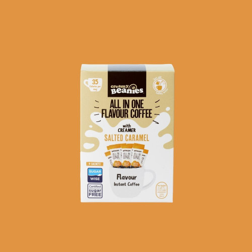 All in One Salted Caramel Sachets