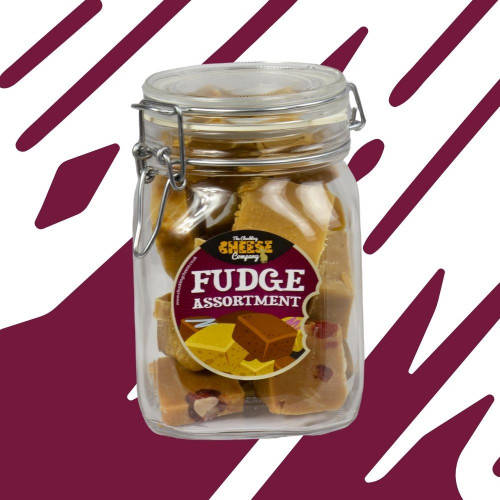 Assorted Fudge Jar
