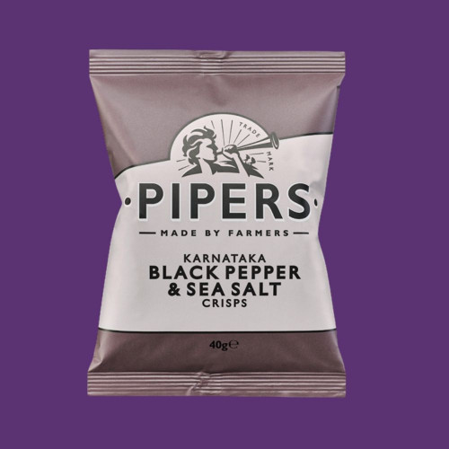 Black Pepper & Sea Salt Crisps