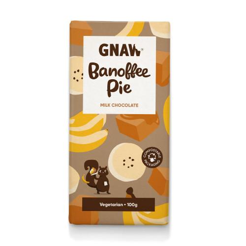 Banoffee Pie Milk Chocolate Bar
