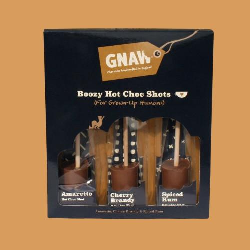 Boozy Hot Chocolate Shots Gift Set