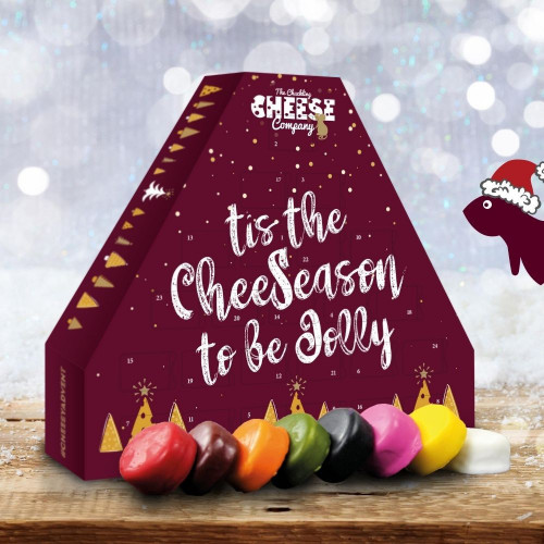Cheese Advent Calendar - Cheeseason to be Jolly