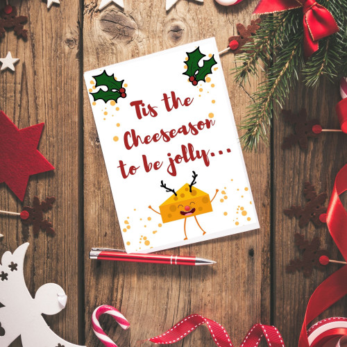 Tis the Cheeseason to be Jolly Card