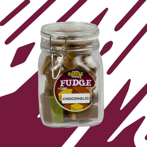 Chocoholic Fudge Jar