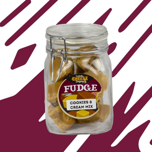 Cookies & Cream Fudge Jar