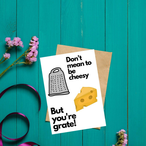 Don't mean to be cheesy...
