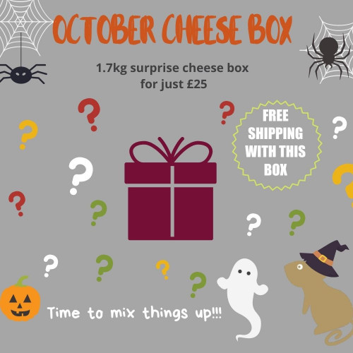 October Monthly Cheese Box
