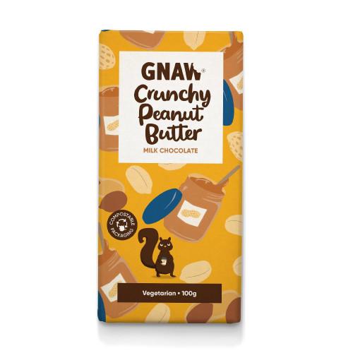 Crunchy Peanut Butter Milk Chocolate Bar