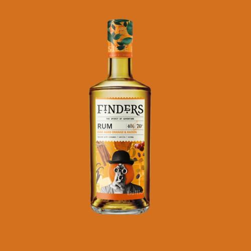 Orange & Raisin Rum 70cl