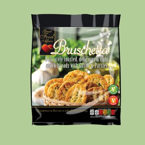 Garlic & Parsley Bruschetta