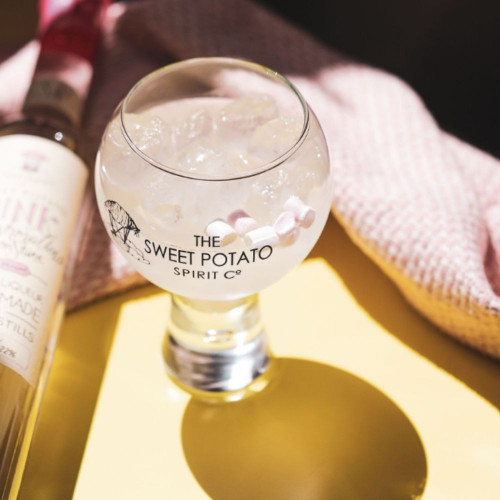Sweet Potato Globe Glass