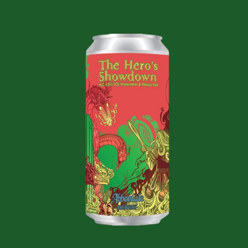 The Hero's Showdown Fruit Ale
