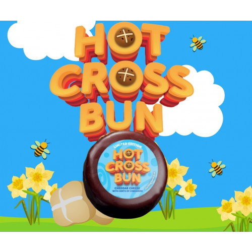 LIMITED EDITION Hot Cross Bun Cheddar Cheese