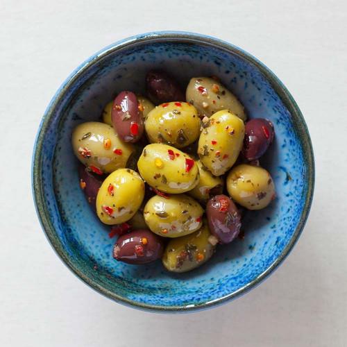 Organic Kasbah Olive Pot