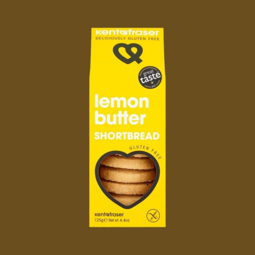 Luxury Lemon Butter Shortbread