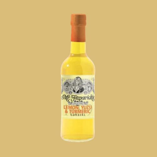 Lemon, Yuzu & Tumeric Cordial