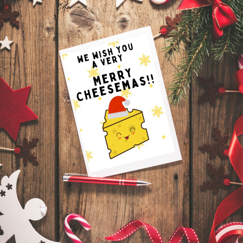 Merry Cheesmas! Card