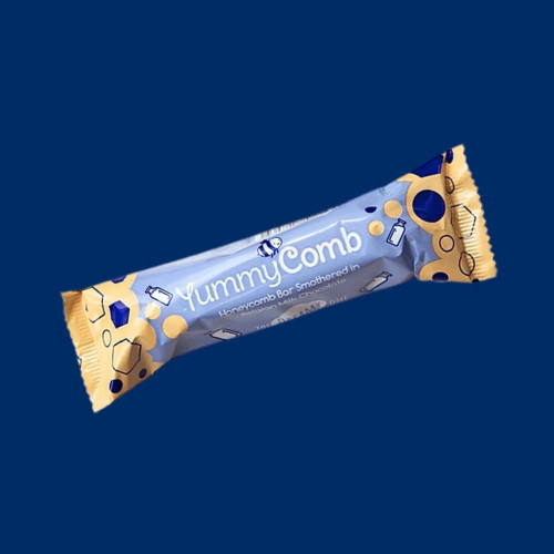 Belgian Milk Chocolate & Honeycomb Bar