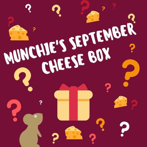 Munchie's September Cheese Box