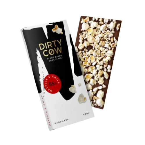 Luxury Dirty Cow Netflix And Chill Chocolate Bar