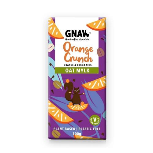 Vegan Orange Crunch Oat Mylk