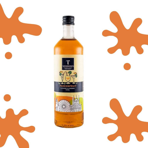 Passion Fruit Flavour Syrup