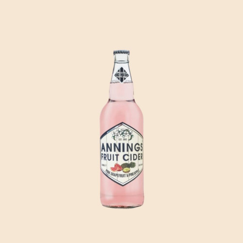 Pink Grapefruit & Pineapple Cider