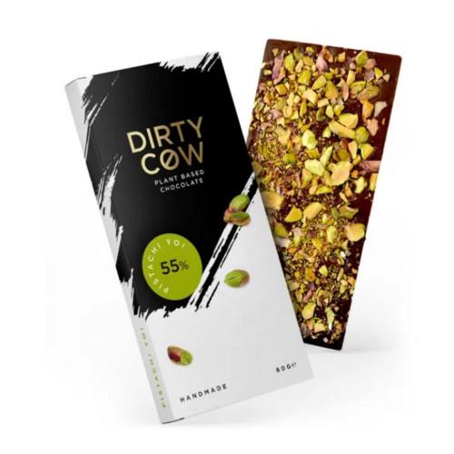 Luxury Dirty Cow Pistachi Yo! Chocolate Bar