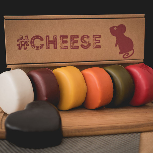 Rainbow Cheese Selection Gift Box