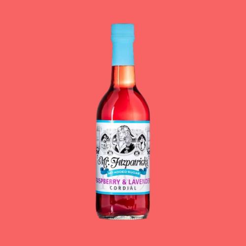 Raspberry & Lavender Cordial