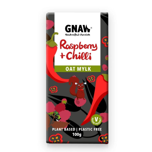 Vegan Raspberry & Chilli Oat Mylk