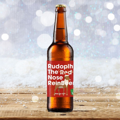 Rudolph the red nosed Reinbeer