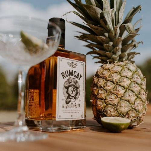Rum Cat70cl