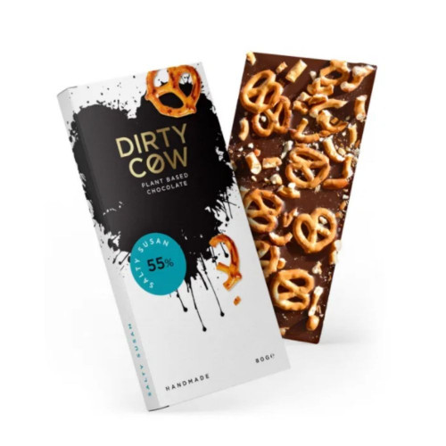 Luxury Dirty Cow Salty Susan Chocolate Bar