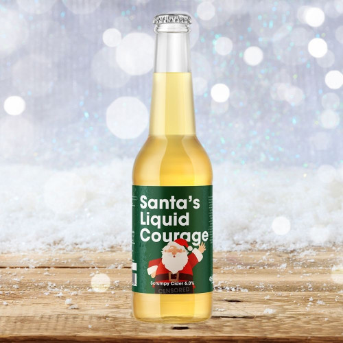 Santa's Liquid Courage Cider