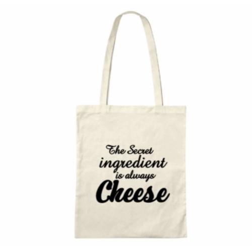 The Secret Ingredient is always Cheese Tote Bag