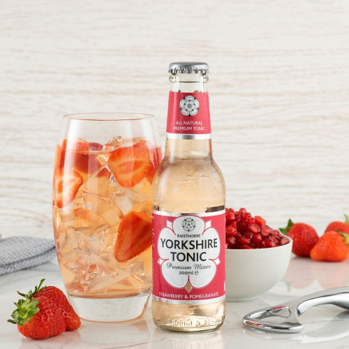 Strawberry & Pomegranate Tonic