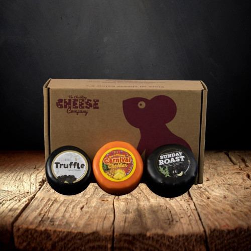 Cheese Truckle Selection Gift Box