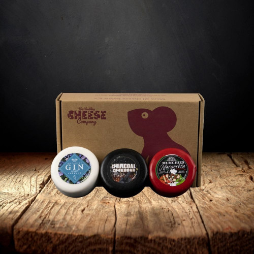 Cheese Truckle Variety Selection Gift Box
