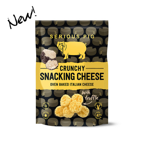 Snacking Cheese with Truffle