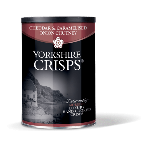 Cheddar & Caramelised Onion Crisps Tub 100g
