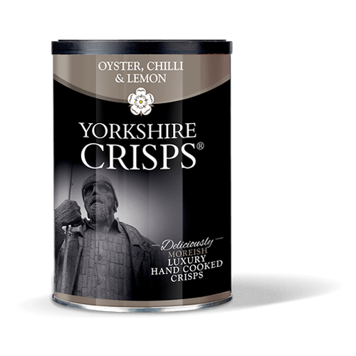 Oyster, Chilli & Lemon Crisps Tub 100g